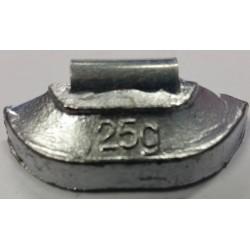 Clip On Wheel Weight Steel Rim